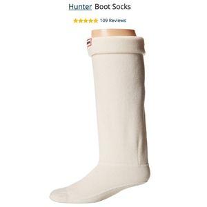 NEVER WORN Unisex Tall White Fleece Socks- Medium